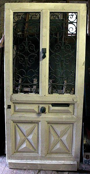 Porte D'Entrée Fer Forgé Occasion | Urbantrott.Com